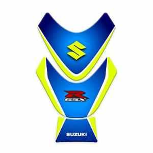 TANK Pad para réservoir pour moto suzuki gSXR 2009–2015| Stickers Suzuki gp-150 Blue Neon