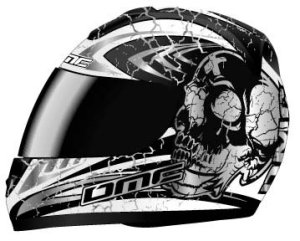Casque DMC MV-8Death Head Skull Casque intégral moto casque M L XL sonderpreis