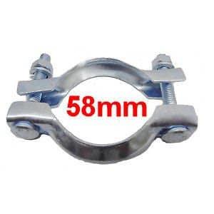Collier Echappement Diamètre 58mm RNP2 Serrage pot ou tuyau