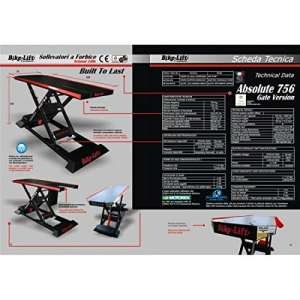 Electro-hydraulic lift 756 gate hc / black/red – ag-756-003 – Bike lift 41100143