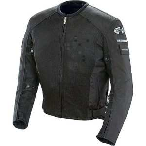 Joe Rocket Recon Mesh Military Spec Men's Textile Street Motorcycle Jacket – Black/Black / X-Large by Joe Rocket