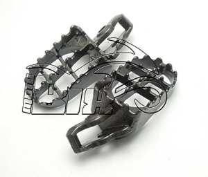 Paire dalles pedaline repose-pieds Motocross Honda CR 125-250, CRF 250-450r/x