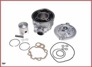 TMP Cylindre kit 70cc 47mm sport Minarelli AM6, Yamaha DT 50 X SM LC 2T 2003-2011