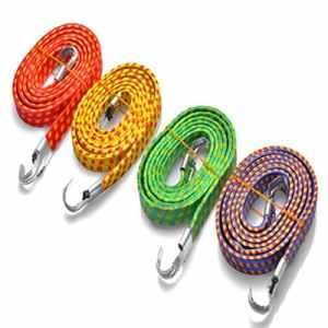 Yongse Moto Vélo Bagagerie Rope Tied Stacking Banding Cord sangle élastique