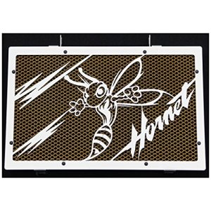 cache radiateur / grille de radiateur 600 Hornet «Frelon V2» 07>14 + grillage or