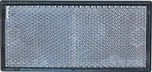 CATADIOPTRICO AUTOCOLLANT RECTANGULAIRE BLANC 105 X 48