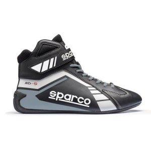 Chaussures Sparco Scorpion KB-5 Noir/Blanc 43