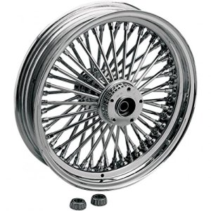 Fat daddy front wheel 21×3.5 dual-disc chrome – … – Drag specialties 02030405
