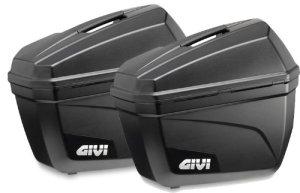 GIVI E22N Sécurité et Assistance en Cas de Panne Valises Latérales E22, Noir