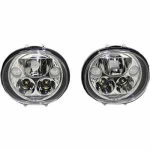 Headlamp kit oval 5-3/4″ chrome – cdtb-575ov-c – Custom dynamics 20011261