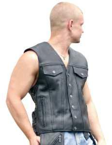 Milwaukee Moto Clothing Company pour homme Gambler Gilet