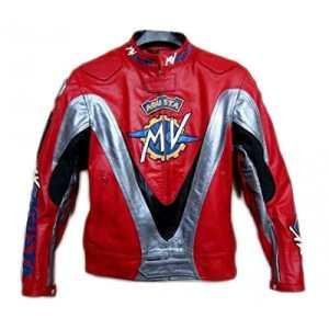 Veste de course mv agusta rouge moto (XXXXL)