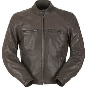 6174-8 S Furygan Vince Hunt Leather Motorcycle Jacket S Brown
