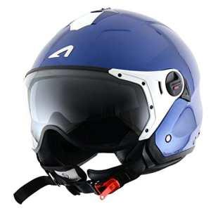 Astone Helmets Casque Jet Mini Sport, Bleu Métallique, L