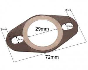 Joint de pot d'échappement pour PEUGEOT Ludix 50 Blaster Type:L1