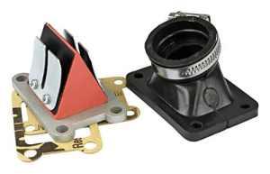 MVT Admission Complete Adaptateur Minarelli AM6 Pipe/Clapet/Manchon Cl 10, Dia 26 – 28