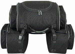 Sacoches latérales avec Sac arrière de moto (semi-rigides)
