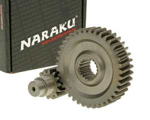 Transmission secondaire naraku racing 14 % pour 10/39 139QMB gY6 125/152/157QMI 150ccm
