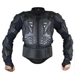 Webetop Veste avec protection dorsale Veste de protection pour moto sport gilet de protection armure Blouson de motard XXL