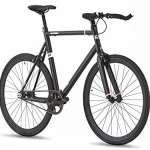 56cm Hi Spec Grade d'aviation en aluminium fixe Gear Bike–Single Speed–Flip Flop Wheel- Poids léger–9kg