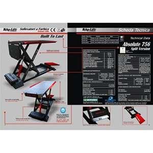 Electro-hydraulic lift 756 split hc / black/red – as-756… – Bike lift 41100142