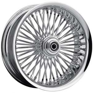 Front wheel 50 spoke radial 21″x3.5″ chrome dd -… – Drag specialties 02030560