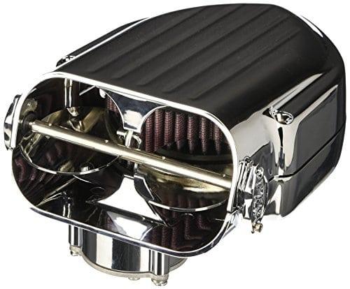 Kuryakyn Pro Hypercharger Filtre à air Chrome Butterflies(Harley Dyna 1999-2015)