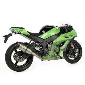 8427Kit d'échappement complet leoVince SKB Factory R Racing–CORSA- Kawasaki ZX 10R Ninja i.e 2013full titane