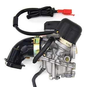 Carburateur 19mm et collecteur d'admission pour 4temps 50/80ccm Roller Rex RS 400/RS 450/RS/460/GY650cc GY660cc