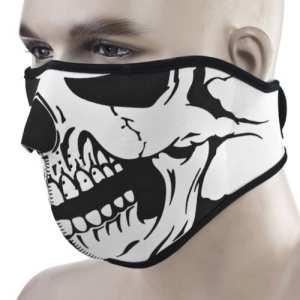 KT Supply Tête de mort Masque complet pour moto Cyclisme Vélo filtre coupe-vent Sports Athlectic motard masques, Homme, Style 2