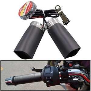 lollychan nouvelle Moto la chaleur chaude chauffée Grip Kit Pads pour guidon moto 12V ssus