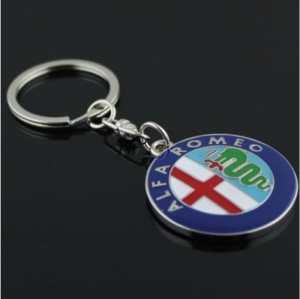 Porte-clés Logo Alfa Romeo Neuf!