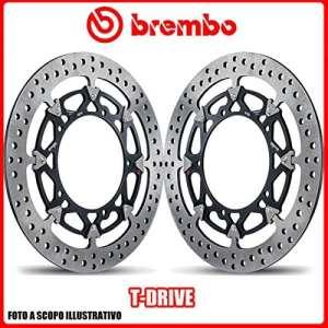 208a98525Kit disques de frein bREMBO t-drive aprilia tuono All Models 1000cc 20022009Ø320