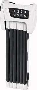 ABUS Bordo Combo 6100/90 Antivol pliable Blanc 90 cm