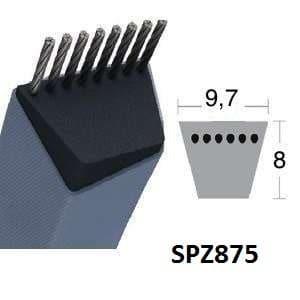 Contitech SPZ875 Courroie Trapézoïdale Continental