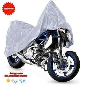 Housse pour moto et scooter en polyéthylène, 230x 130cm
