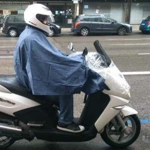 Imperméable pour scooter motocycliste