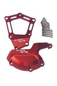 Lot de 2 protèges moteur gauche et droit CNC pour moto BMW S1000R S1000RR HP4 K42 K46 2009-2015