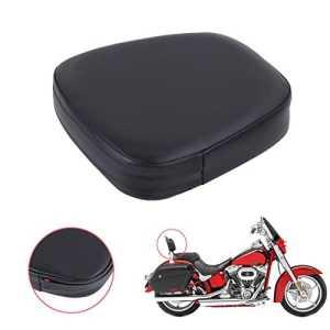 Aochuang universel passager PU Cuir Sissy Bar dossier Coussin Pad pour Harley Suzuki Yamaha Honda Kawasaki