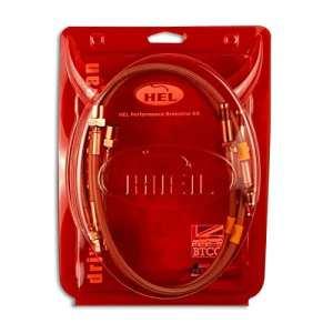 HEL Performance tressée lignes de frein pour Ford Focus MK21.8TDCI Mechnical Frein de stationnement (2004-)