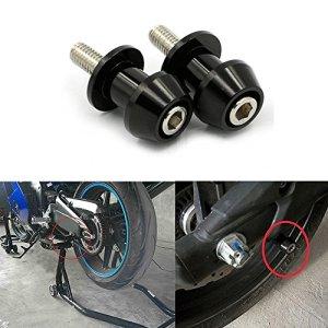ViZe Diabolos Moto Vis de Support Pour Kawasaki KTM Suzuki Honda (Noir, 10mm)