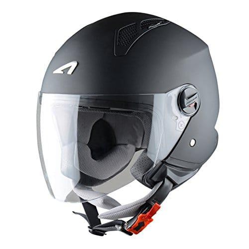 Astone Helmets Casque Jet Mini, Noir Mat, M