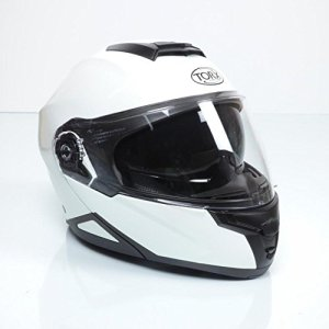 Casque Moto NEIL 2 WHITE SHINY : M
