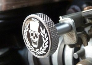 Choke ckokeknopf aluminium pour triumph thruxton america scrambler speedmaster bonneville