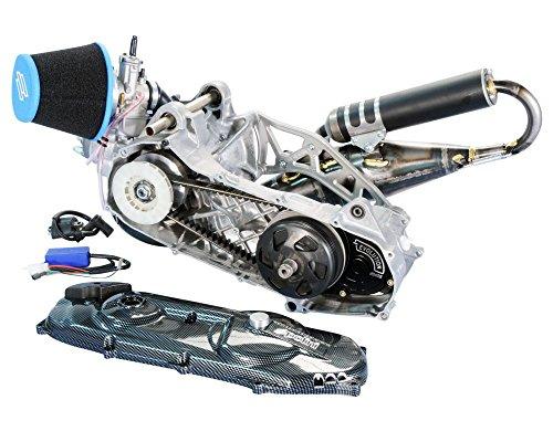 Moteur de course POLINI Evolution P.R.E. 70ccm 47,6mm pour MBK Nitro, Yamaha Aerox