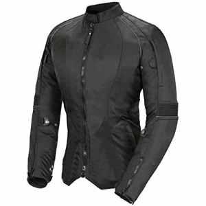 Newfacelook Pour Femme Moto Veste Codura Dames Imperméable Bike Protection L