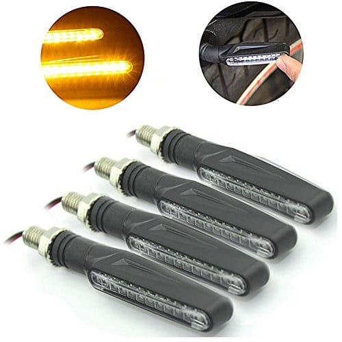 Ampoule 4 Justech X Lampe Feux Additionnels Clignotant Led Moto thxsrCQd