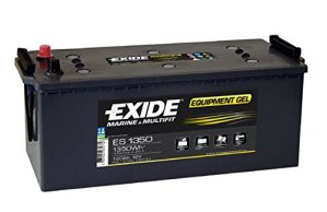 Exide Campingbedarf Equipment Batterie Gel ES 1350, 28555