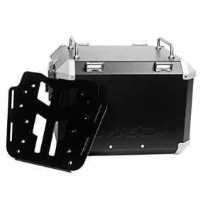 MyTech Kit Top Case–41litres noir et plaque de fixation pour Honda x-adv pour porte-bagages d'origine honda