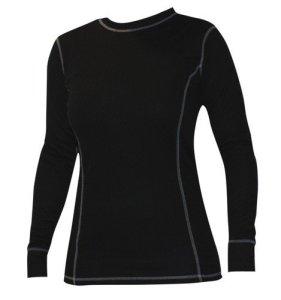 Roleff Racewear Sous-Vêtements Fonctionnels T-shirt pour Femmes, Noir, LL